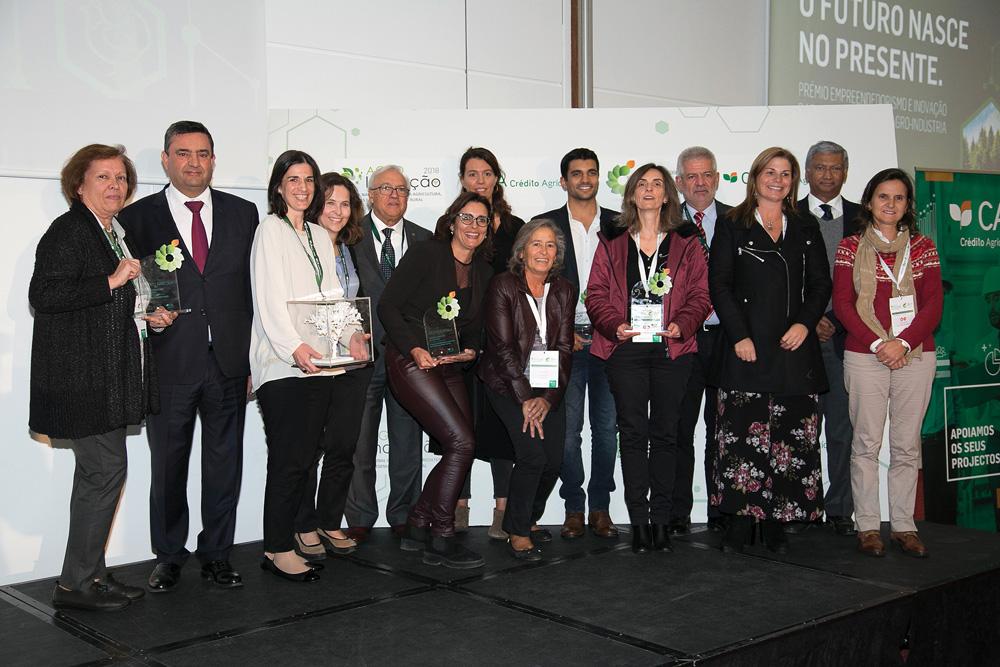 Vencedores dos Prémios Empreendedorismo e Inovação Crédito Agrícola