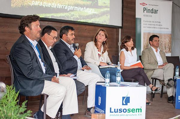 """Painel da Mesa Redonda """"Inovação e Sustentabilidade na cultura do arroz em Portugal"""""""