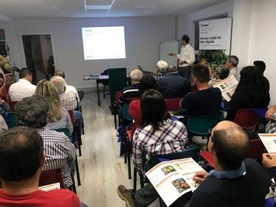 Lusosem e a Messinagro apresentaram o novo inseticida Closer,em Faro, com produtores de citrinos e hortícolas