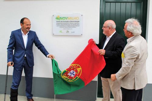 Inauguração deo Centro de Formação e Demonstração para produtores e técnicos - InovMilho