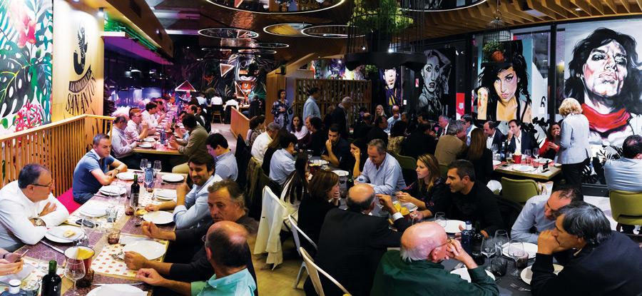 Jantar de empresários hortofrutícolas em Madrid