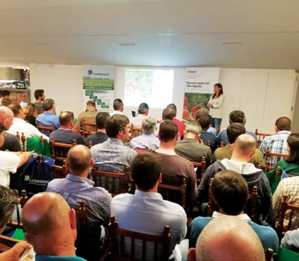 Reunião de lançamento do novíssimo inseticida CLOSER, a 2 de Maio, em Torres Vedras, com produtores de hortícolas