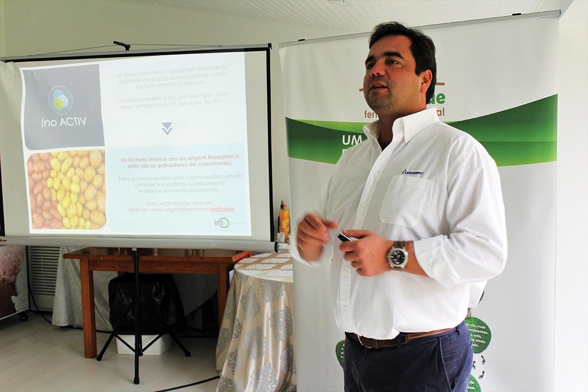 Nelson Matos, abordou a Estratégia de nutrição foliar