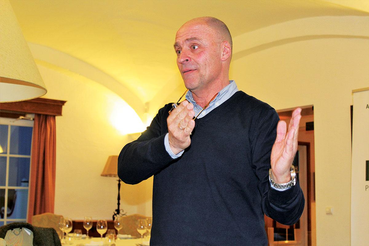 Nuno Chegadinho, técnico da ATEVA - Associação Técnica dos Viticultores do Alentejo