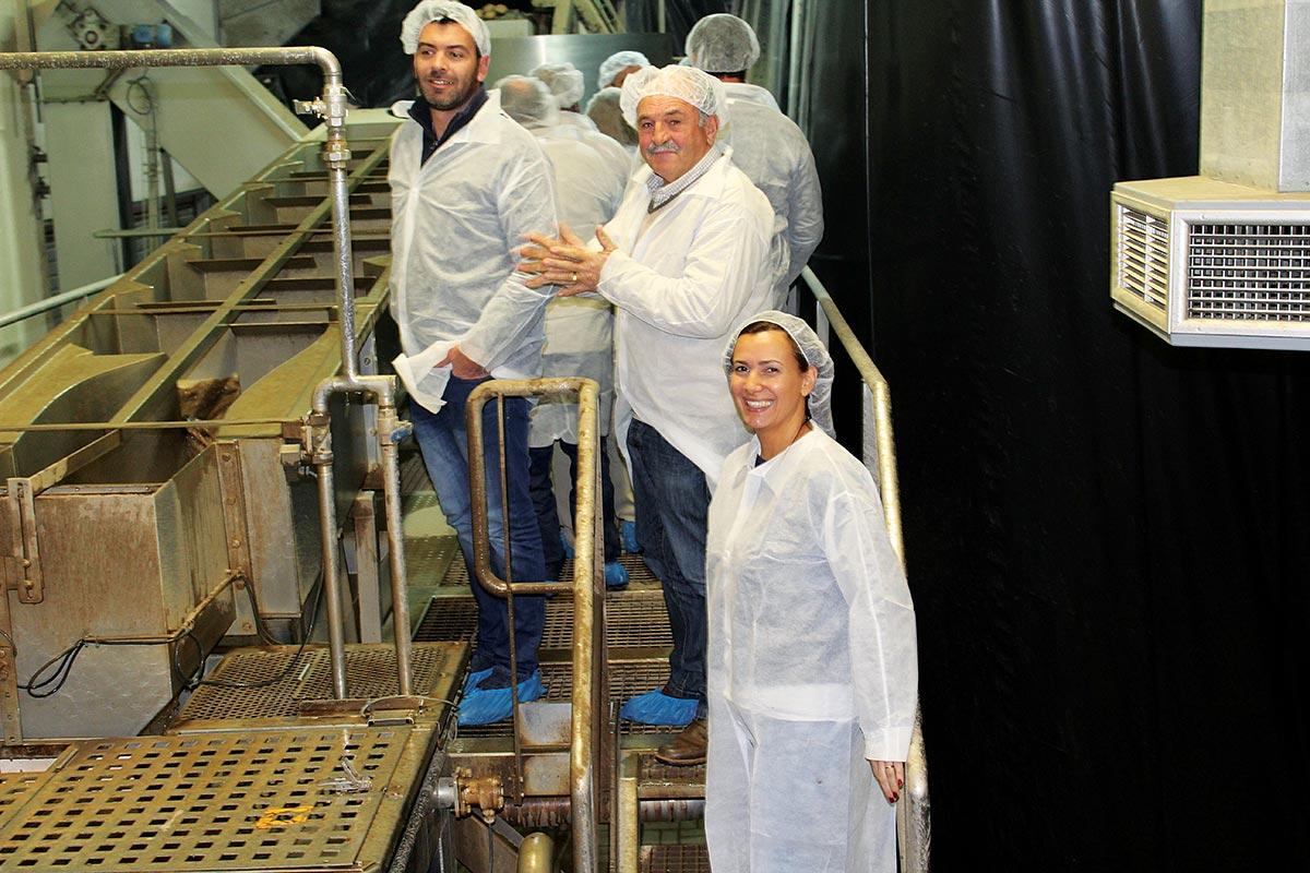 Visita à fábrica da SIA em Tentúgal