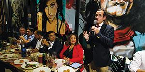 Lusosem patrocinou jantar de empresários hortofrutícolas em Madrid